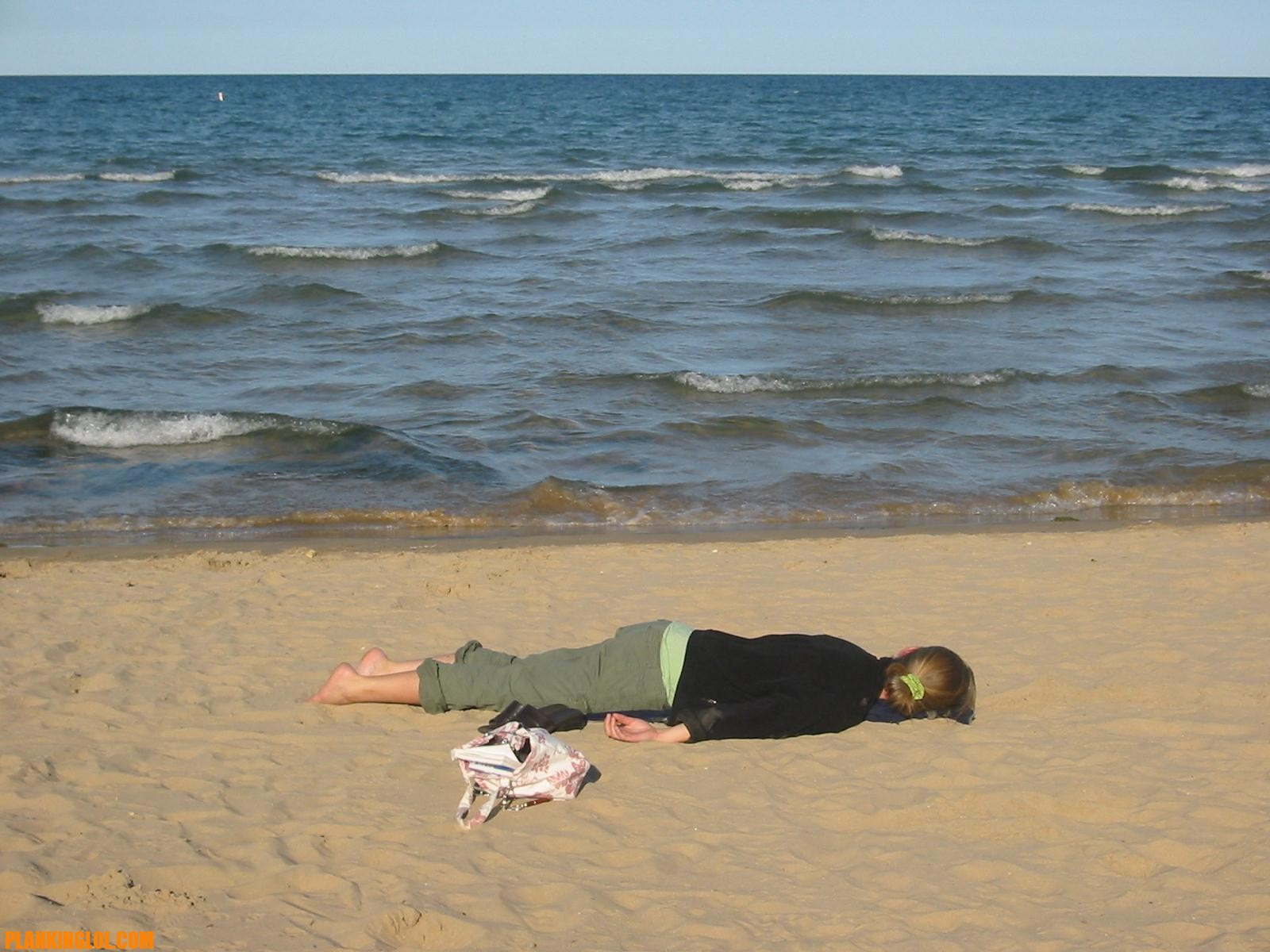 Passed Out On Beach