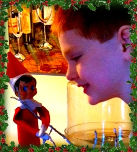 Colin and the elf